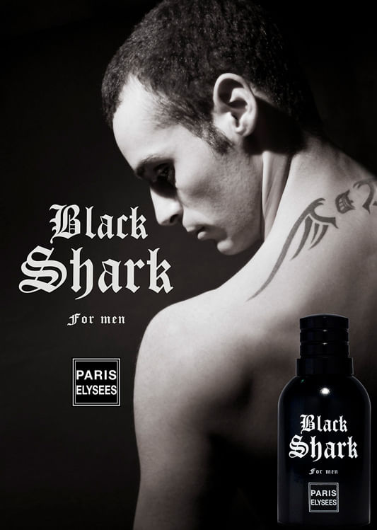 Black Shark Paris Elysees - Perfume Masculino - Eau de Toilette