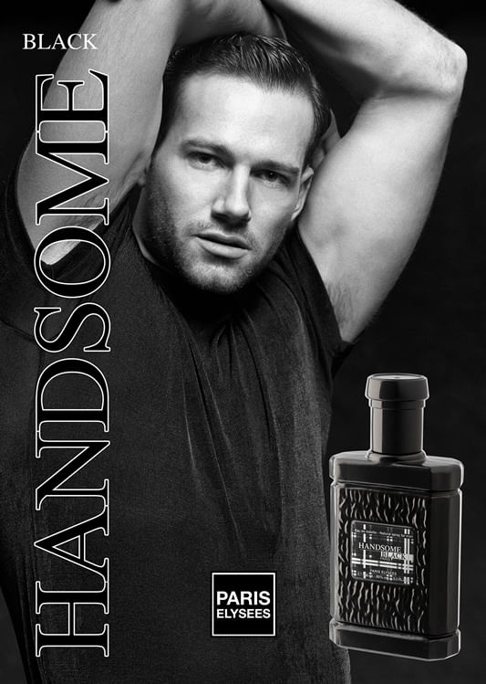 Handsome Black Paris Elysees - Perfume Masculino - Eau de Toilette