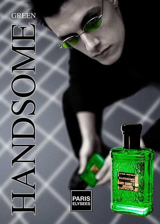 Handsome Paris Elysees - Perfume Masculino - Eau de Toilette