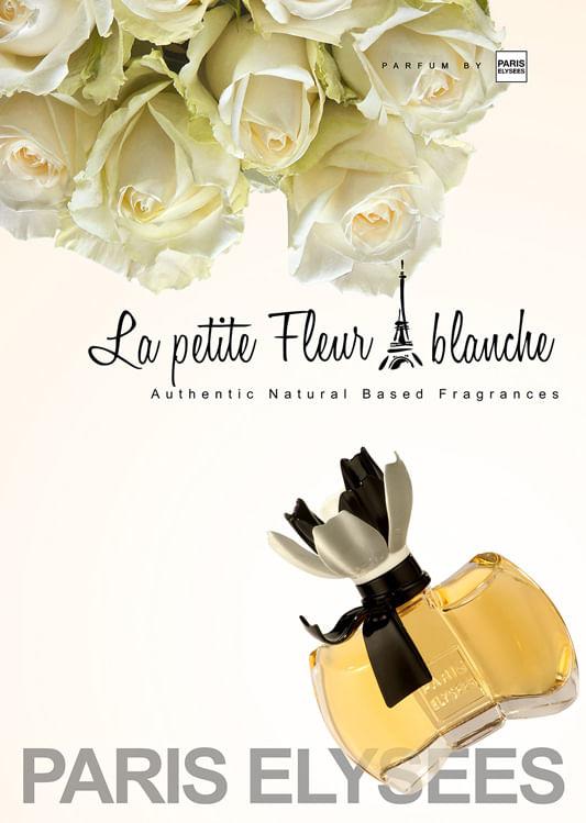 Imagem, La Petite Fleur blanche Paris Elysees - Perfume Feminino - Eau de  Toilette 6459cbe8954
