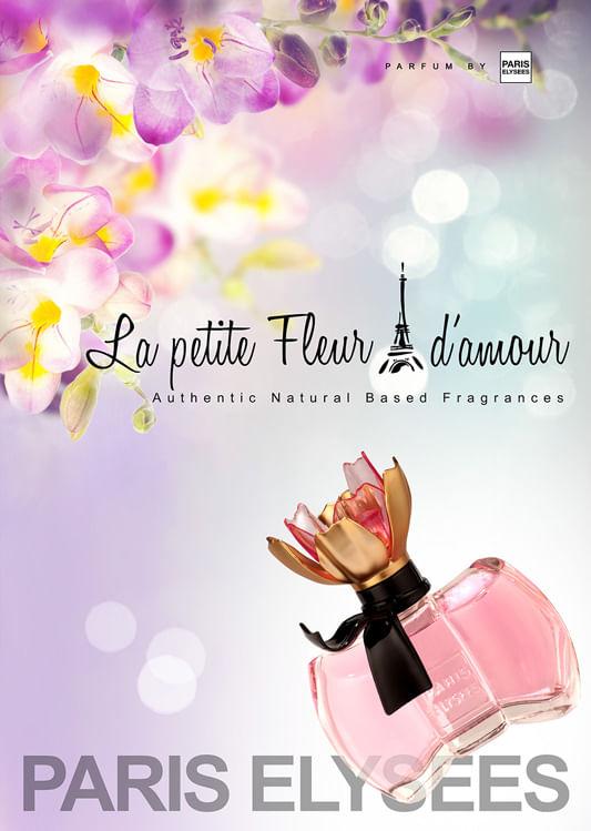 Perfume La Petite Fleur D Amour Paris Elysees Feminino Epoca