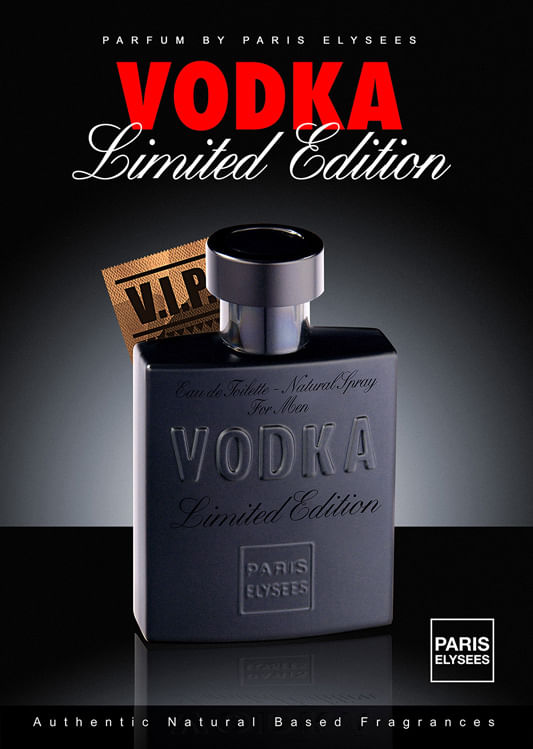 Vodka Limited Edition Paris Elysees - Perfume Masculino - Eau de Toilette