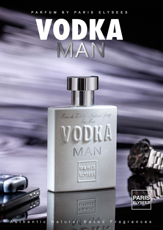 Vodka Man Paris Elysees - Perfume Masculino - Eau de Toilette