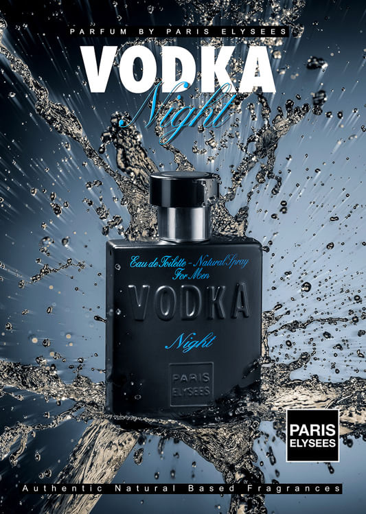 Vodka Night Paris Elysees - Perfume Masculino - Eau de Toilette