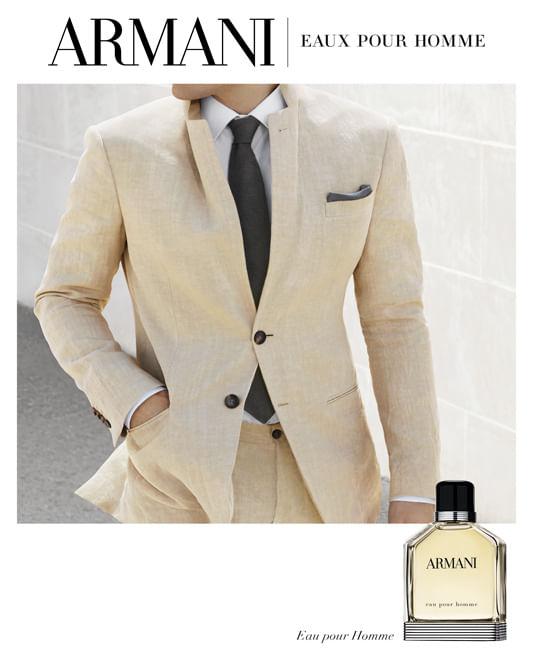 Armani Eau Pour Homme Giorgio Armani - Perfume Masculino - Eau de Toilette