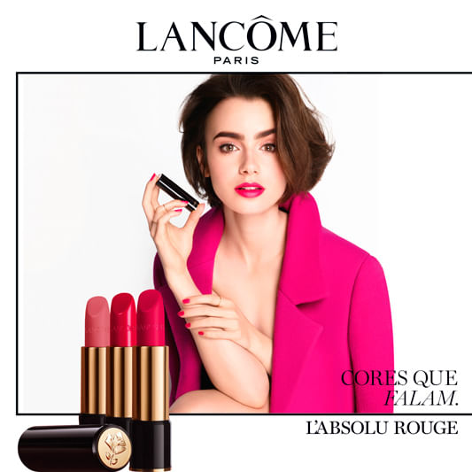 Batom Lancôme L'Absolu Rouge Cream Hydrating Lipcolor