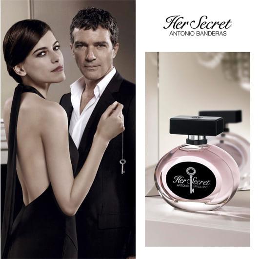 6abc450cd Perfume Her Secret Antonio Banderas Feminino - Época Cosméticos
