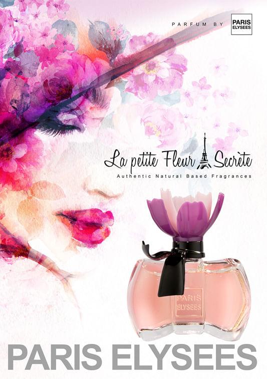 Imagem, La Petite Fleur Secrète Paris Elysees Perfume Feminino - Eau de  Toilette 2ed7bd17bfa
