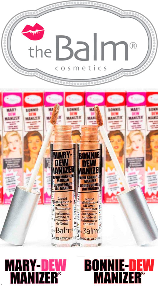 Mary Dew Manizer The Balm - Iluminador Líquido
