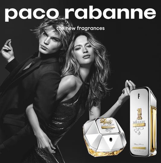 4de009d2c7 Perfume 1 Million Lucky Paco Rabanne Masculino - Época Cosméticos