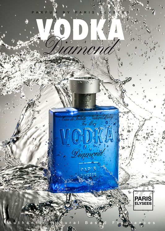 Vodka Diamond Paris Elysees - Perfume Masculino - Eau de Toilette