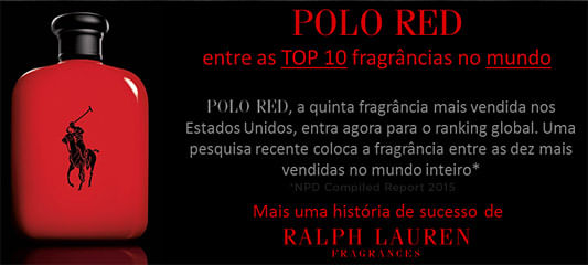 Ralph Lauren Polo Red Perfume Masculino - Eau de Toilette