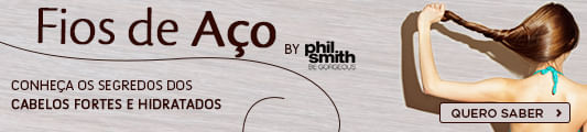 Phil Smith, o cabelereiro das celebridades britânicas, nos conta os segredos para  ter cabelos fortes e hidratados.