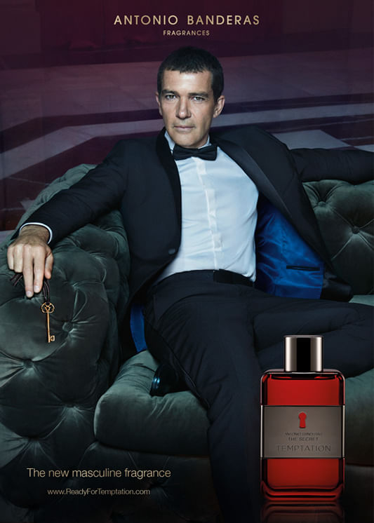 The Secret Temptation Antonio Banderas Perfume Masculino - Eau de Toilette