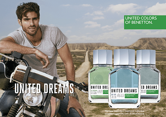 Perfume Importado United Dreams Be Strong Eau de Toilette Benetton - Perfume Masculino - United Colors of Benetton