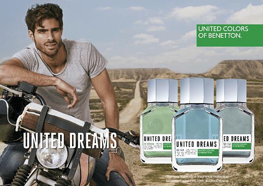 Perfume Importado United Dreams Be Strong Eau de Toilette Benetton - Perfume Masculino - United Colors of Benetton