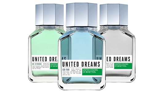 Perfume Importado United Dreams Eau de Toilette Benetton - Perfume Masculino - United Colors of Benetton