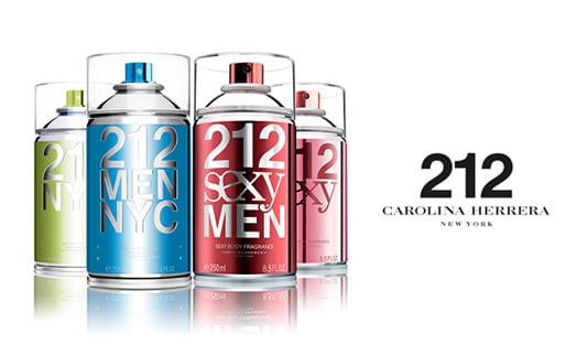 894da69eb 212 NYC Seductive Body Spray Carolina Herrera - Época Cosméticos