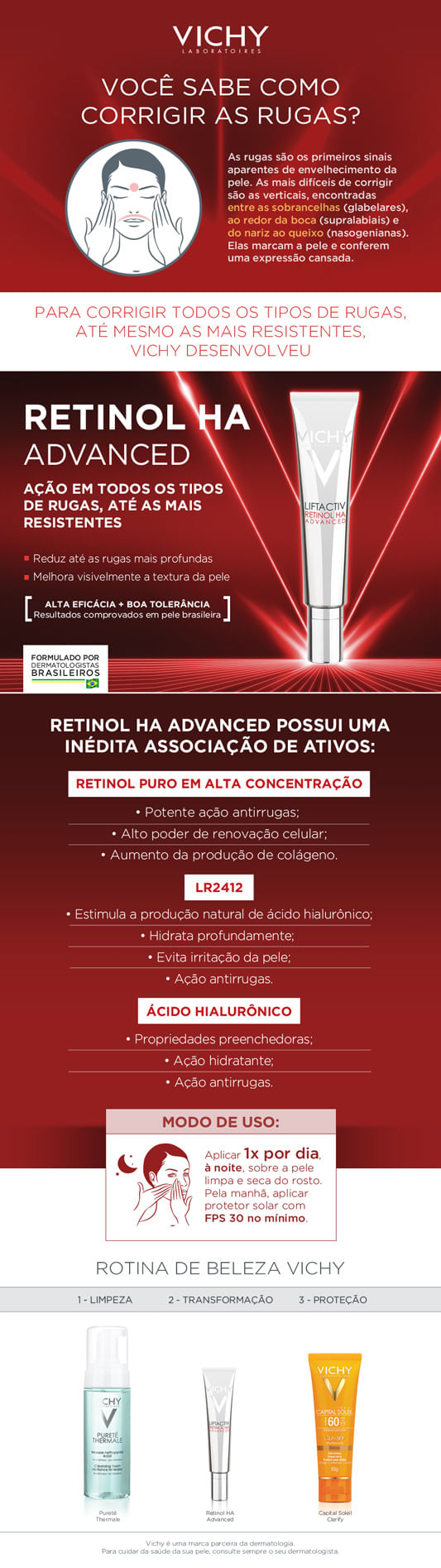 Liftactiv Retinol HA Advanced Vichy - Rejuvenescedor Facial