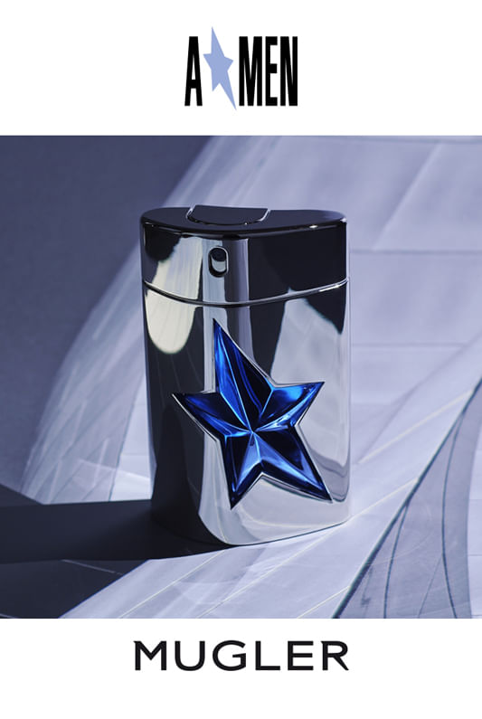 A Men Rubber Mugler- Refillable - Perfume Masculino - Eau de Toilette