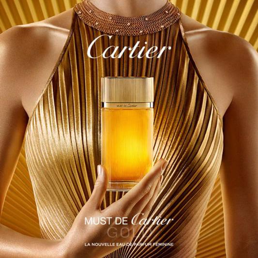 3950569f47d Perfume Must de Cartier Gold Cartier Feminino - Época Cosméticos